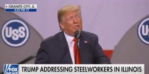 Steelworkers speech